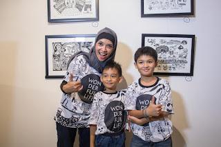 The Real Amalia Prabowo, Aqil dan Adiknya Aqil