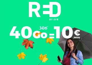 RED propose des offres promotionnelles imbattables !