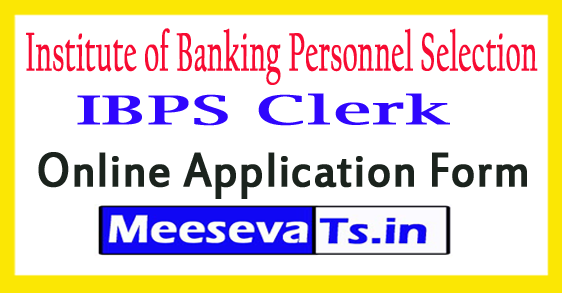 Institute of Banking Personnel Selection Clerk Recruitment 2017