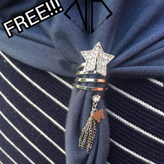 Free Ring Brooch