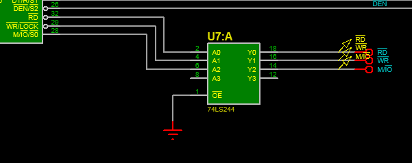 8086 Microprocessor simulation with Proteus ISIS   Software