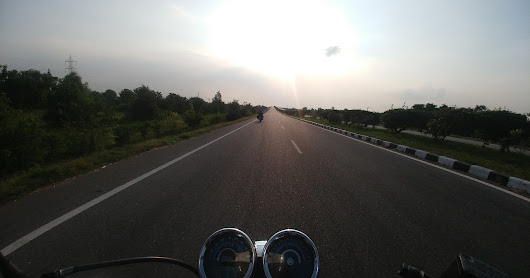 Day 2 - Hyderabad to Nagpur; riding into the night