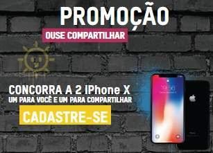 Cadastrar Promoção Blowtex 2018 Ouse Compartilhar Concorra iPhone X