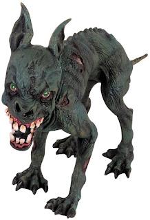 Zombie Halloween Dog
