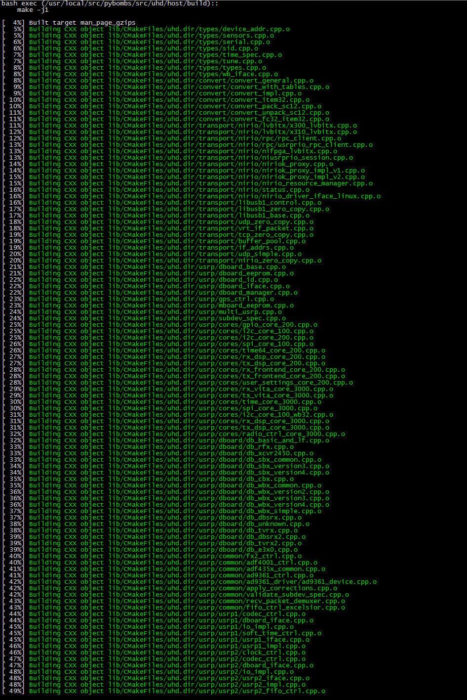 WW1L: Working on Beaglebone Black, HackRF, GNURADIO + Ubuntu