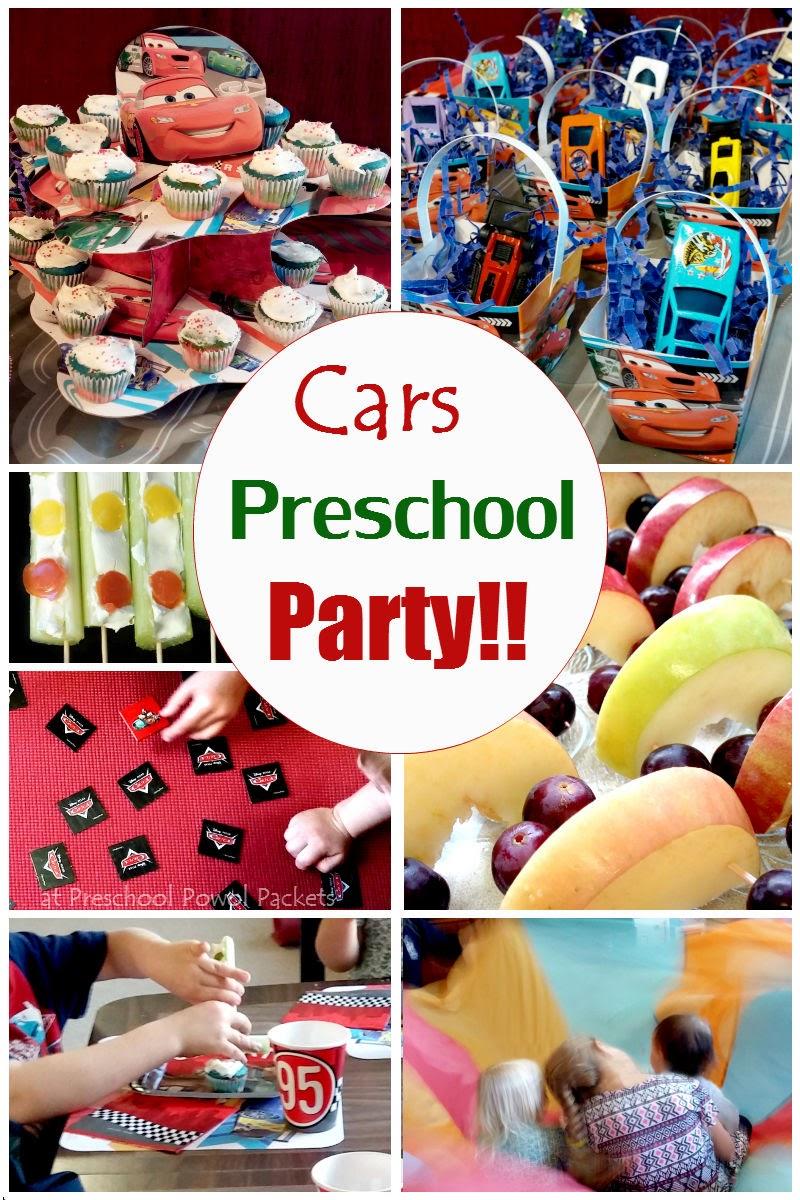 Preschool Party Food Ideas