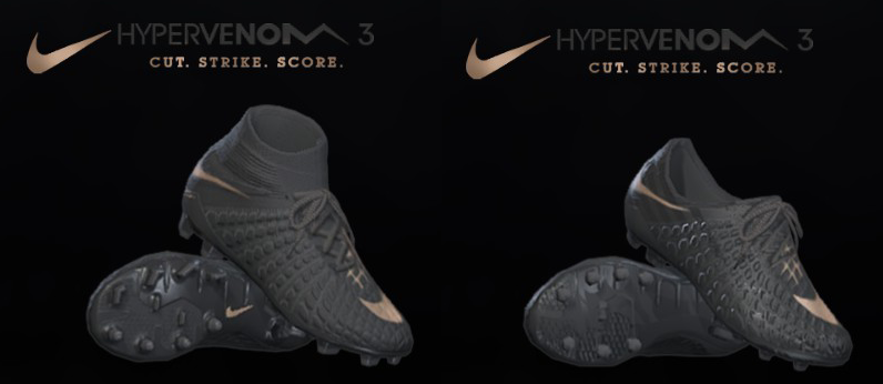 PES 17/18 Nike Hypervenom Game of gold