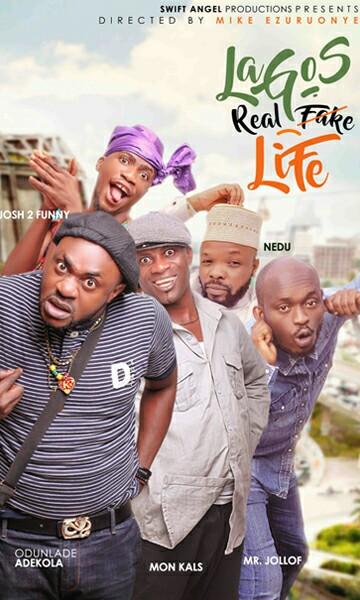 Lagos Real Fake Life (Theatrical Poster)