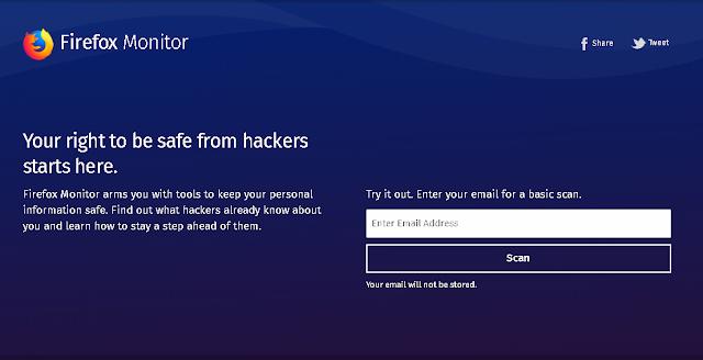 سيتيح لك متصفح Firefox معرفة ما إذا كانت بياناتك قد تمت سرقتها