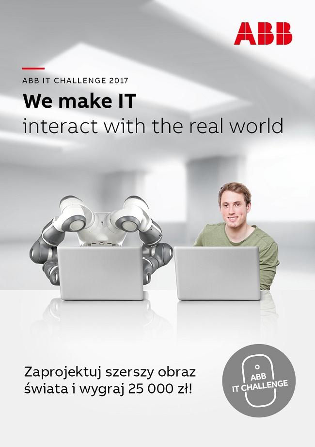 ABB IT Challenge - plakat reklamujący