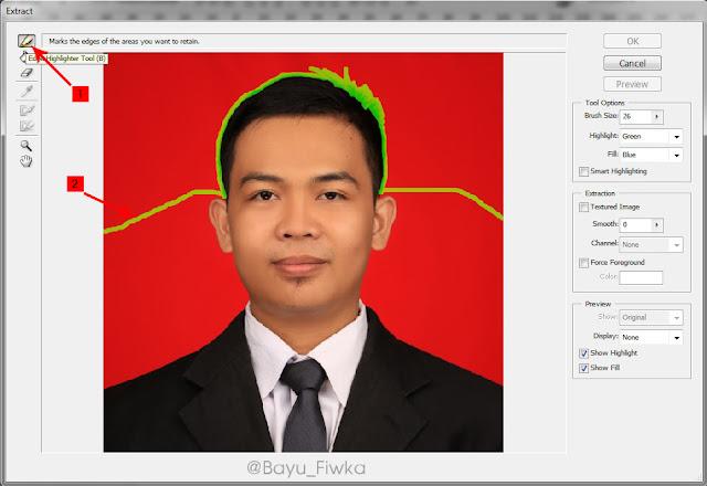 trik mendapatkan detail rambut di photoshop