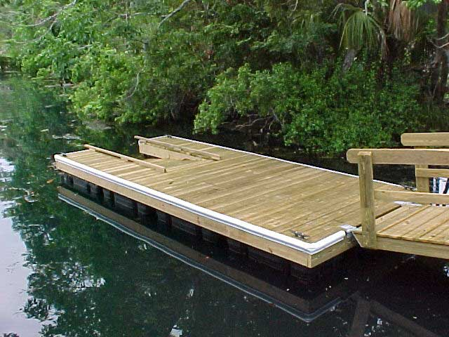 Diy Amp Crafts Floating Docks And Their Construction