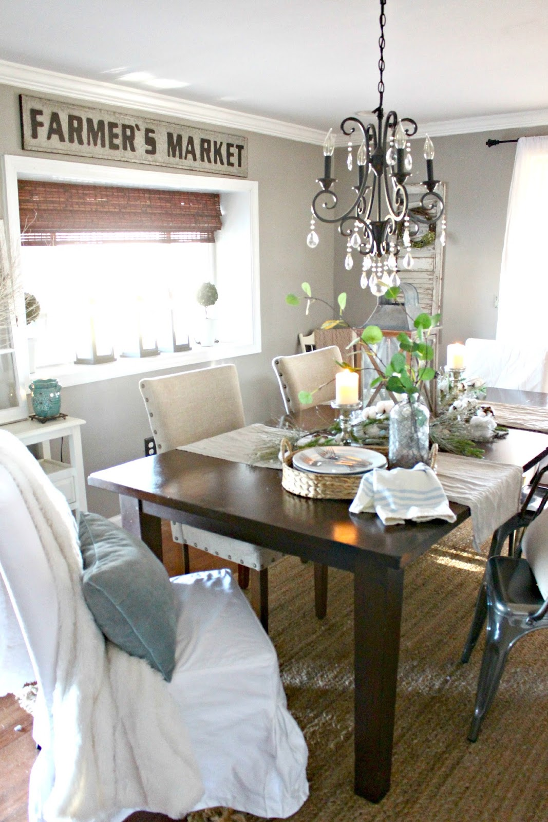 One Of The Things I Did To Achieve The Farmhouse Style Look I Loved So Much Was Adding Rugs To My Spaces I Especially Loved Jute Rugs And The Texture They
