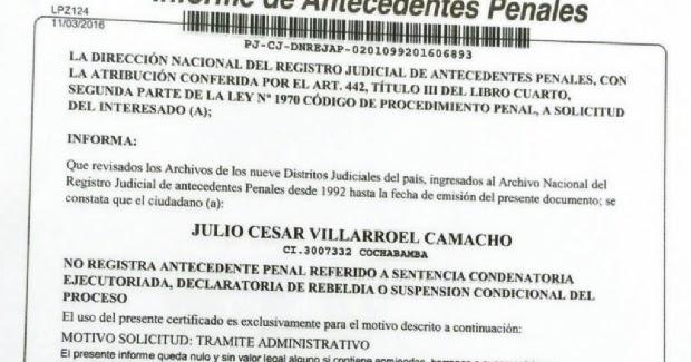 Estudio Jurídico La élite La Paz Bolivia Cancelación