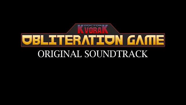 Album art for Doctor Kvorak's Obliteration Game Official Soundtrack