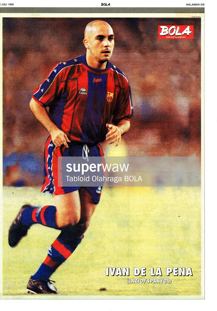IVAN DE LA PENA BARCELONA 1997