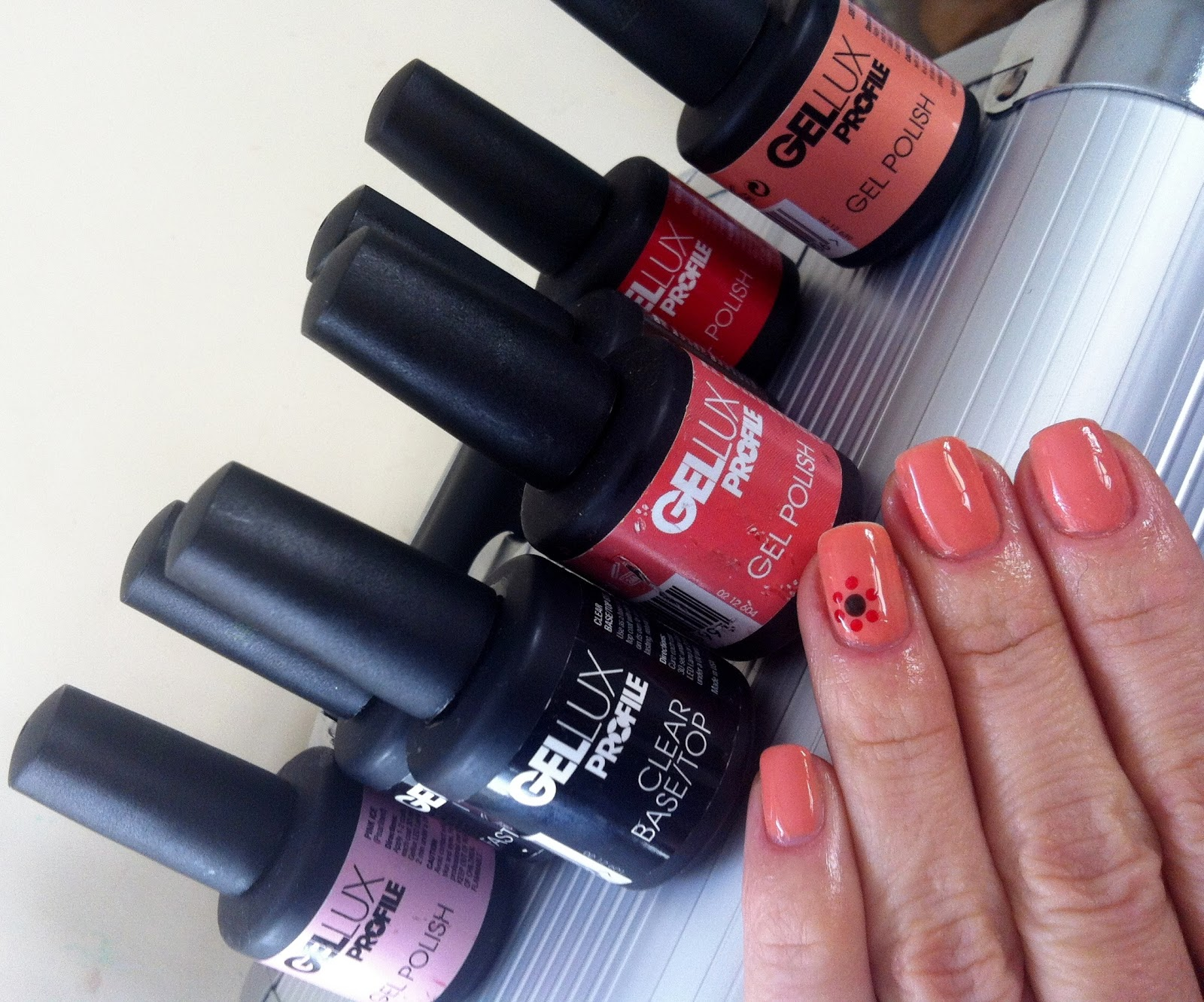 Gellux Profile Gel Nail Polish Review Photos Amp Swatches Adna Cristina Beauty