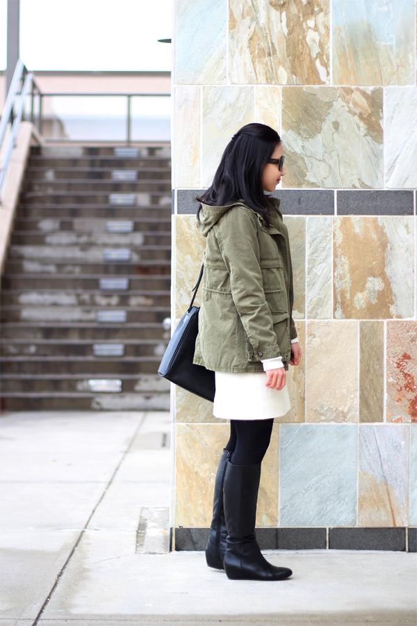 7cd56a26473b Zara Parka with Detachable Waistcoat - Elle Blogs