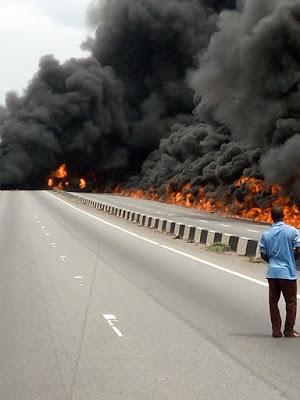 petrol tanker accident benin ore ondo