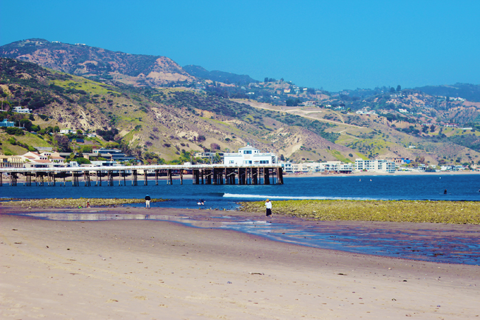aimerose travel blog malibu pier