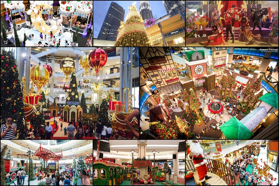 Christmas In La.8 Best Christmas Theme Decorations For Malls In Malaysia
