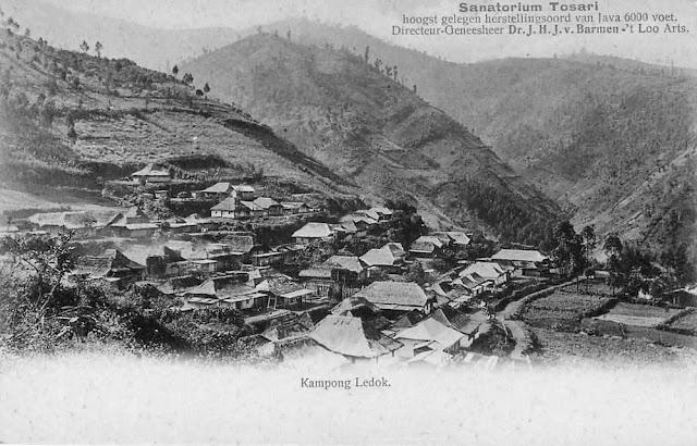 Sanatorium Tosari at Kampung Ledok, c1905
