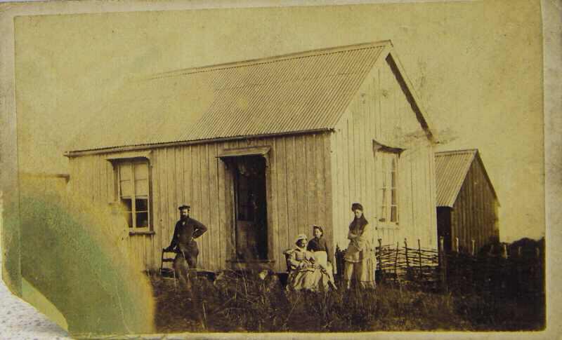 Mole's Genealogy Blog: Bluff Lighthouse: Keeper's Quarters 3