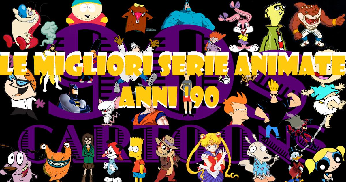 classifica le migliori serie animate anni 90