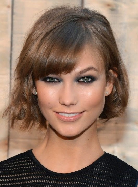 Trendy Layered Short Bob Hairstyle with Bangs for 2014