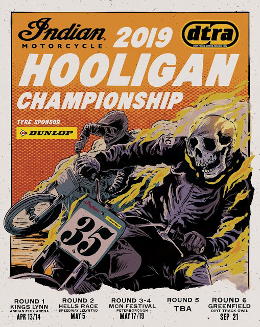 Flat Track Hooligan Racing UK 2019