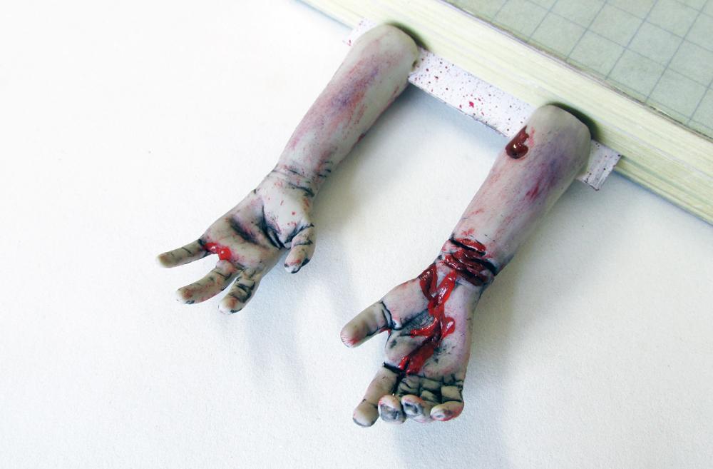 Excepcional DIY: Como Fazer Marcador de Páginas - THE WALKING DEAD | Beauty Rock YT27
