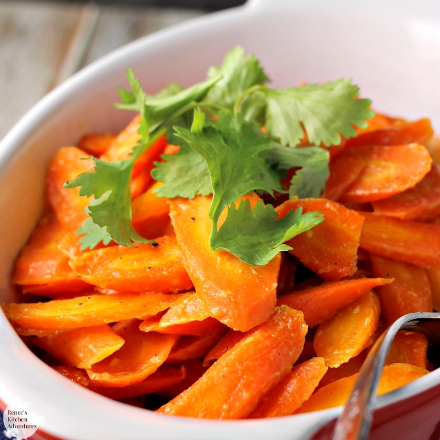 Honey Dijon Roasted Carrots