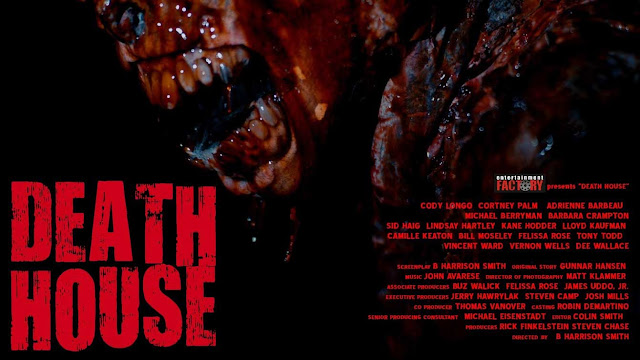 Death House (2017) Poster promocional