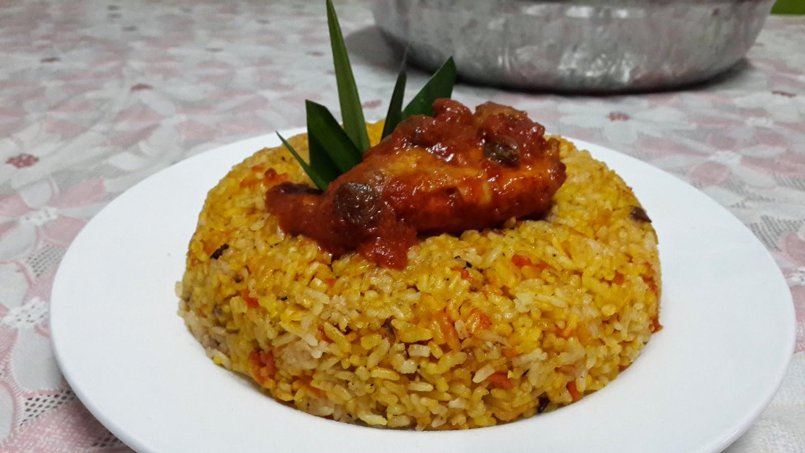 Sajian Dapur Bonda Resepi Periuk Noa Nasi Tomato Mamak Penang