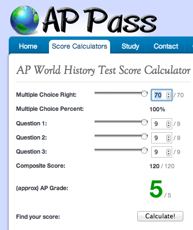 How the AP Exam is calculated? | Baker's AP World History