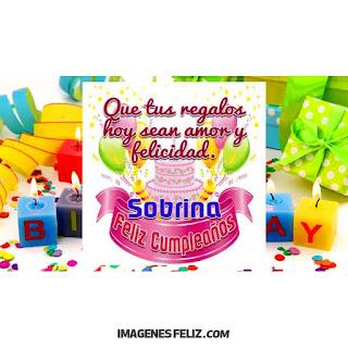 Feliz Cumpleaños Sobrina Adorada