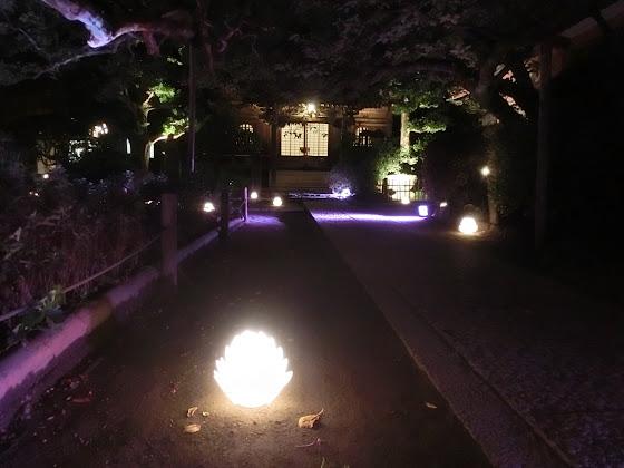 長谷の灯かり・極楽寺
