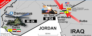 fighting near the border with Jordan and Israel-occupied Golan Heights