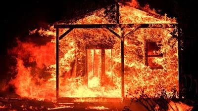 الحرائق