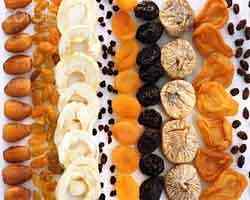 Os benefícios das frutas desidratadas