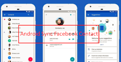 Sync Contacts on Facebook