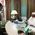 Pres Buhari receives briefing from Army Chief, Tukur Buratai [Photo]