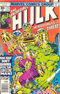 Incredible Hulk #213, Quintronic Man