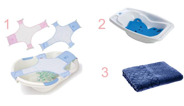 Primeiro banho do bebê