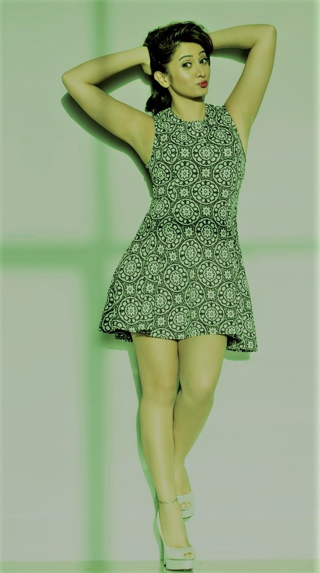 Actress HarshikaPoonacha Rare And Unseen Pics