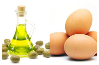 How To Get Straight Hair Naturally With Eggs And Milk