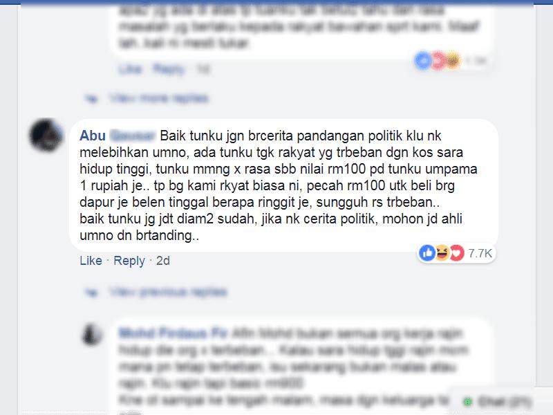 Bebanan perbelanjaan rakyat Malaysia berterusan PRU14 BN UMNO