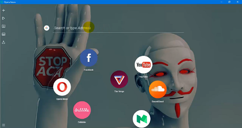 متصفح Opera Neon أسرع وأخف متصفح لتجنب التشنجات والتقطعات مع مميزات رائعة