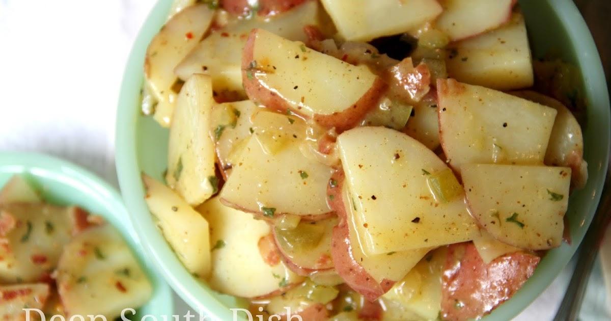 Southern German Potato Salad Recipe