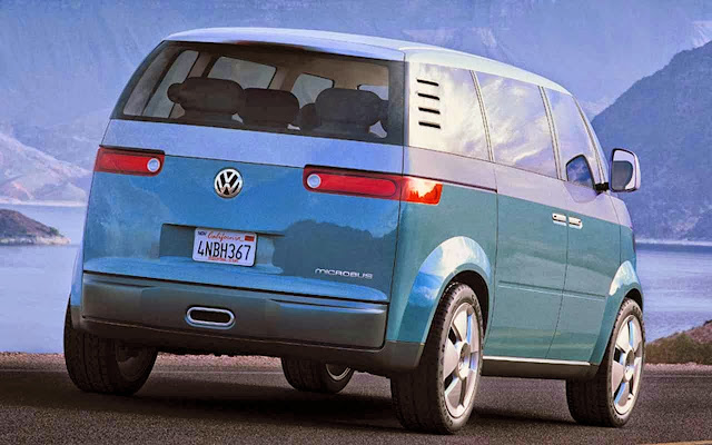 Volkswagen Microbus Styled Under Vw Geoup Design Walter Desilva And Also Brand Deputy Klaus Bischoff New Will Show Its Characteristic